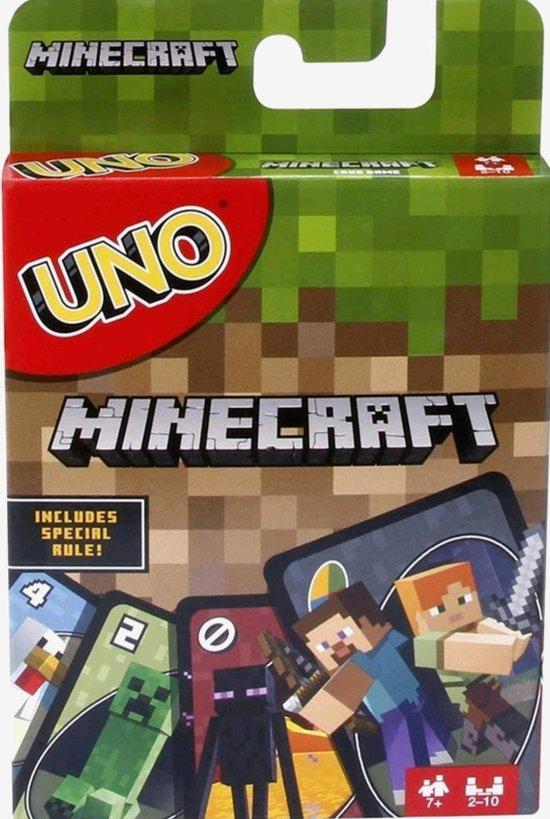 Afbeelding van het spel Minecraft Mattel Games UNO Minecraft/ Kaartspel