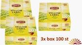 Lipton Yellow Label Tea value Pack 3 x100 tea bags = 300 tea bags