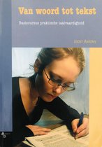 Boek cover Van woord tot tekst van J.J. Ansems