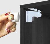 Kinderslot kastjes | Sterke Magneet | Veiligheid kinderen | 4 stuks |Inclusief bevestigingsmateriaal