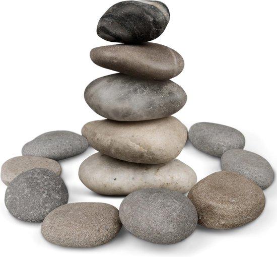 Afbeelding van Happy Stones   Stenen Schilderen Kinderen   Stenen Schilderen Volwassenen   4-9 cm   Schilderbare Keien   Happy Stones Pakket    Beach Pebbles speelgoed
