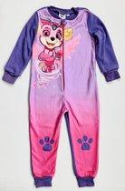 Paw Patrol - Onesie / Jumpsuit / Pyjama - Roze - maat 98/104