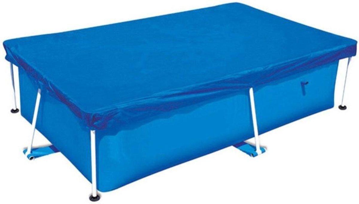 Splash Pool Cover voor zwembaden van 300x201 cm | Zwembadhoes met slijtvast touw |Duurzaam |Blauw