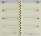 Brepols Agenda 2022 - Interplan NL - vulling - 9 x 16 cm - spiraal