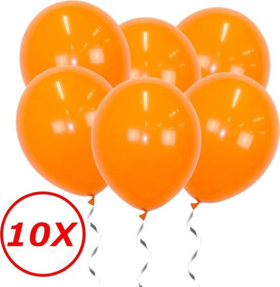 Oranje Ballonnen 10 Stuks Feestversiering EK Koningsdag WK Verjaardag Ballon