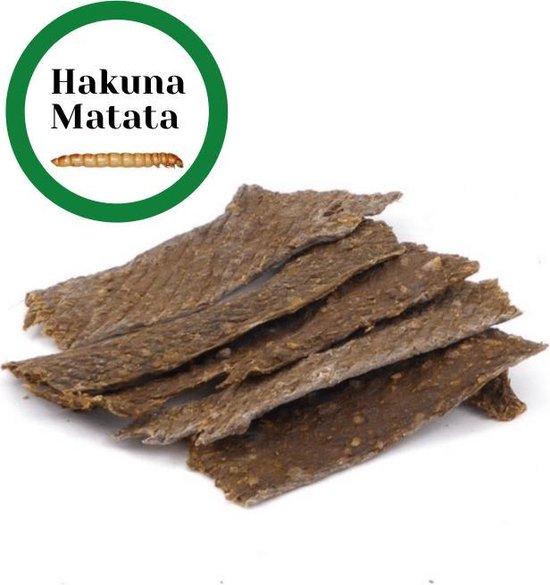 HAKUNA MATATA - Hondenvoer - Hondensnacks - Meelwormen 100 gram - Hypoallergeen geen Allergie - Hondensnack - Hondensticks