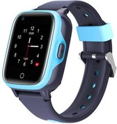 Wonlex GPS horloge kind tracker VideoCall 4G MAX AQUA Wifi Blauw SOS videobellen [IP67 waterdicht] incl. SIM-kaart