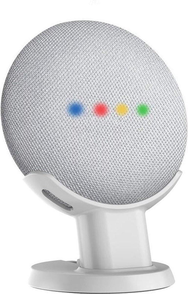 Antislip Tafel Standaard Houder Voor Google Nest Home Mini Smart Speaker - Wit