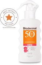 Biodermal Zonnebrand Kids - Zonnespray voor kinderen - SPF 50+ - 175 ml