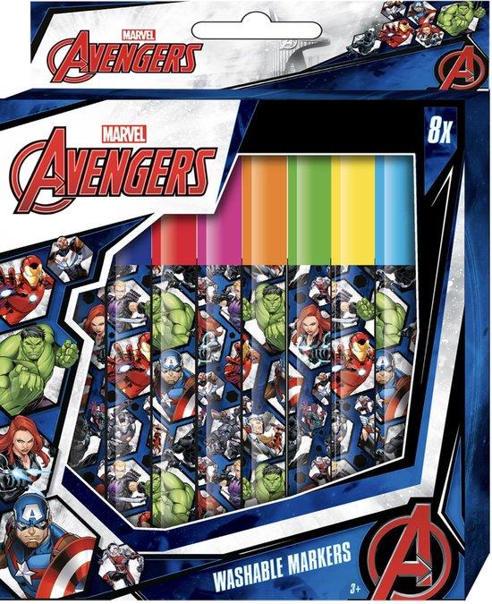 Marvel Avengers - Stiften - Uitwasbaar - Kleurstiften