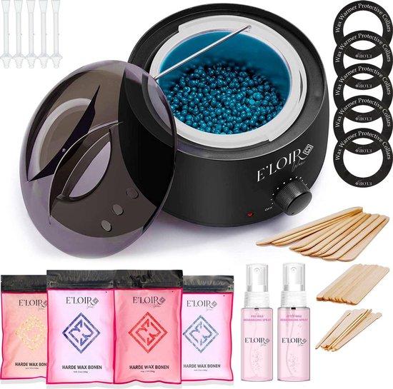 E'loirWax® Wax Ontharen Set inclusief 4 Zakjes Waxbonen - Wax Apparaat - Wax...