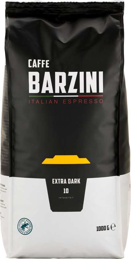 Barzini Italian Espresso Extra Dark Espressobonen - 1 KG