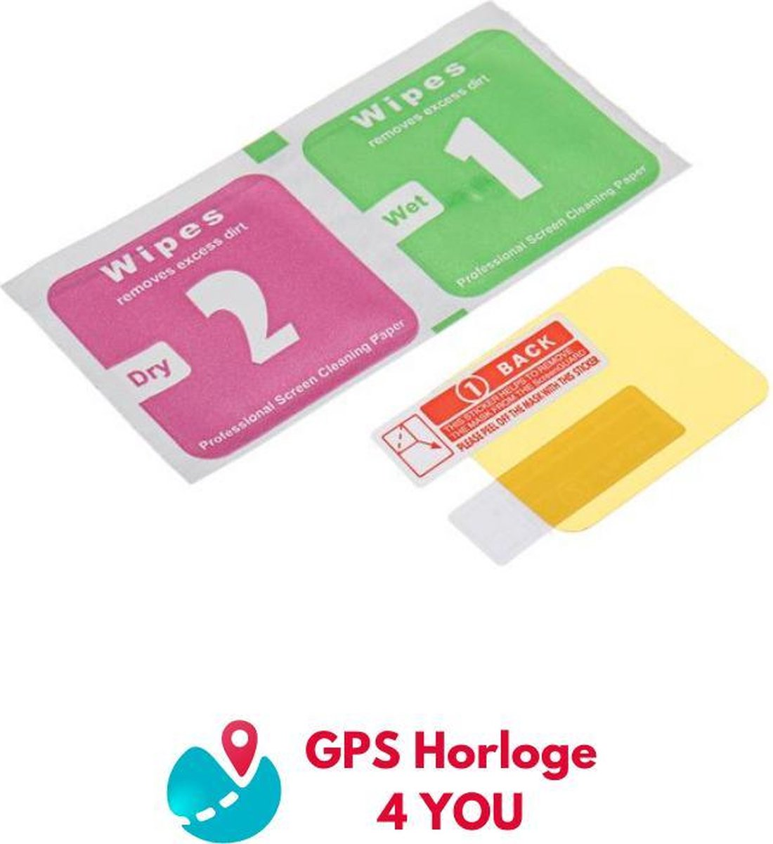 Screenprotector - GPS Horloge 4 YOU - Kinder Smartwatch - screenprotector gps horloge kind - Scherm 2inch - Wonlex horloges - Trackie Horloges
