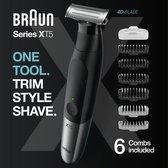 Braun Series X Trimmer - Baardtrimmer Lichaamsverzorger en Elektrisch Scheermes voor Mannen – XT5200
