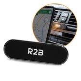 R2B Magnetische telefoonhouder auto  - Geschikt voor dashboard/console - Gsm houder auto - Telefoonhouders auto