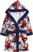 Grijs-blauwe badjas Spider-Man MARVELvoor jongens   3-4 jaar 98/104 cm