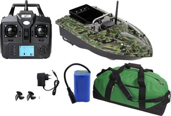 Eerstekeuze® GPS Voerboot - 2.0 KG Laadvermogen - Hook release - Inclusief tas - 500M bereik - Cruise Control - Karper vissen - Top Klasse Voerboot!