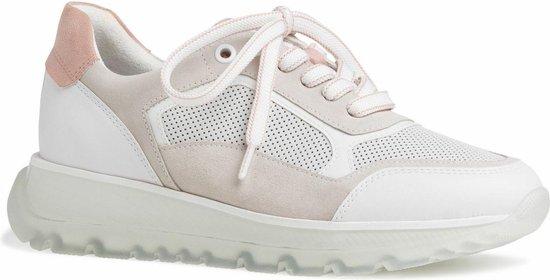 Marco Tozzi BY GUIDO MARIA KRETSCHMER Dames Sneaker 2-2-83702-26 122 wit F1/2-Weite Maat: 42 EU