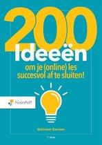 200 ideeën om je (online) les succesvol af te sluiten!