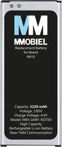 MMOBIEL Batterij / Accu voor Samsung Galaxy Note 4 (N910F) - 3220 mAh Batterij Li-Ion