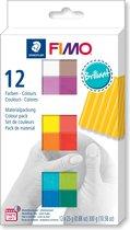 Fimo soft colour pack 12 brilliant colours 8023 C12-2  / 12x25gr (04-19)