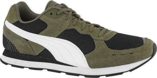 Puma Vista Runner heren sneakers - Groen - Maat 41