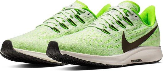 Nike Air Zoom Pegasus 36 Heren Sportschoenen PhantomRidgerock Electric Green Moon Particle Maat 44