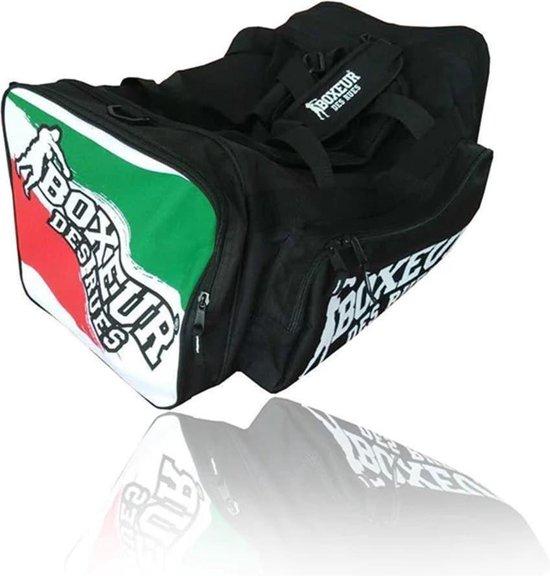 BOXEUR DES RUES Sporttas met verstelbare band Italiaanse vlag