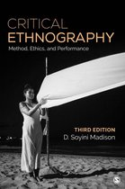 Boek cover Critical Ethnography van D. Soyini Madison