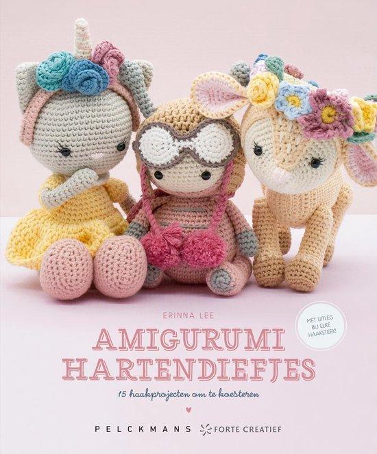 Afbeelding van Amigurumi hartendiefjes Erinna Lee speelgoed