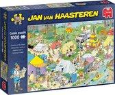 Jan van Haasteren Kamperen in het Bos puzzel - 1000 stukjes