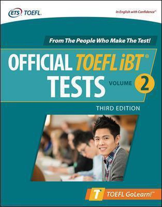 Boek cover Official TOEFL iBT Tests Volume 2, Third Edition van Educational Testing Service (Paperback)