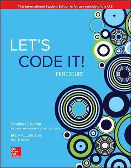 Let's Code It! Procedure