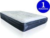 Stevige Matras Hoes | 1-persoons Matrashoes | Beschermhoes Tijdens Verhuizen en Opslag | Waterproof | 114x225cm