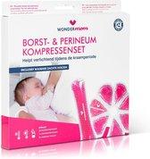 WonderMom Borstvoeding - Perineum - icepack - warmtekussen - kraampakket - postpartum - borstkolf - borstcompressen
