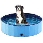 Zwembadje voor kinderen en huisdieren - Hondenzwembad - Hondenbad - Bad voor Honden, Huisdieren - Opzetzwembad - 120x120x30cm