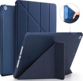 SBVR – Apple iPad Hoes 2014 - 9.7 inch – Voor iPad Air 2 - Smart Cover - A1566 - A1567 - Donkerblauw