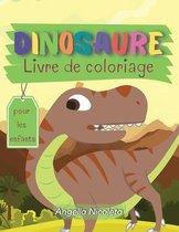 Dinosaure Livre de coloriage pour les enfants
