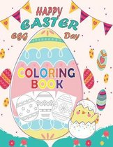 Happy Easter Egg Day coloring Book