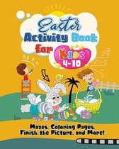 Easter Activity Book for Kids 4-10