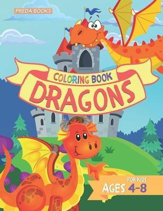 Dragons Coloring Book for Kids