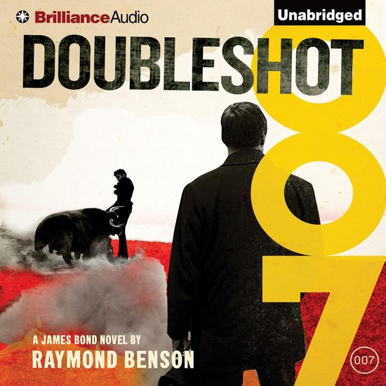 Boek cover Doubleshot van Raymond Benson (Onbekend)