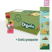 Organix Knijpfruit Maandbox - Vanaf 6 Maanden - Biologisch - 30 Stuks
