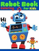 Robot Book Coloring For Kids