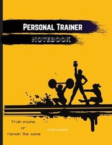 Personal Trainer Notebook