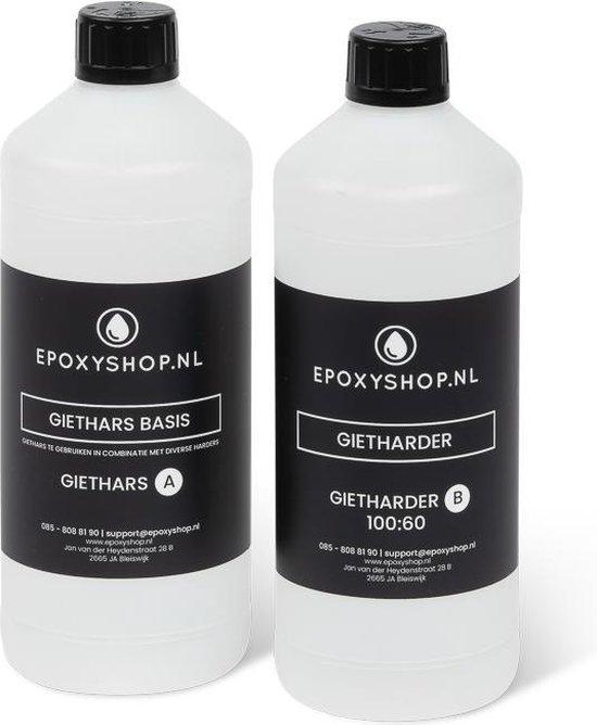 Afbeelding van Epoxyshop.nl | Epoxy giethars | Zeer helder | UV-stabiel | Makkelijk verwerkbaar | 800 gram speelgoed