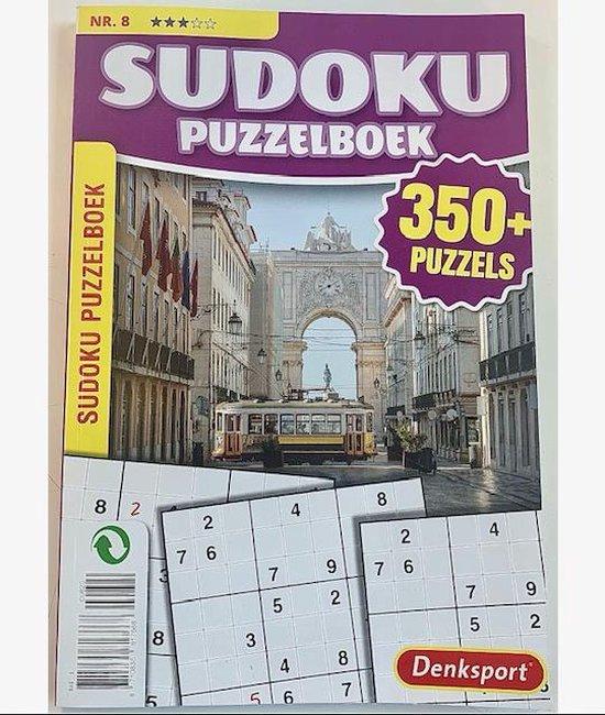 Afbeelding van Denksport Puzzelboek Sudoku 3* - vakantieboek 350 plus puzzels