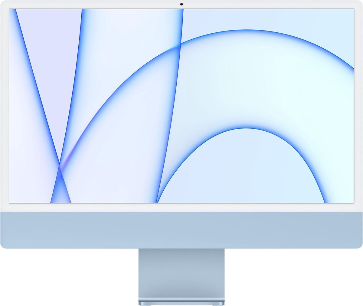 Apple iMac 24 inch (2021) - 8GB - 256GB - 7 core GPU - M1 - Blauw