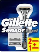 Gillette Sensor Excel - 1 stuk - Scheermes