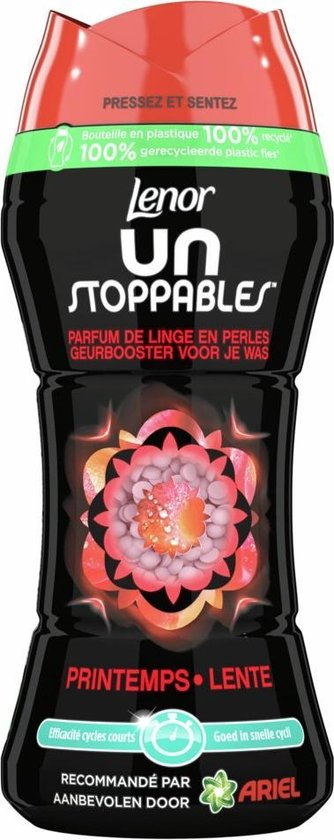 Lenor Unstoppables Lente In-Wash Geurbooster - Voordeelverpakking 6 x 224g - Wasmiddel Parfum